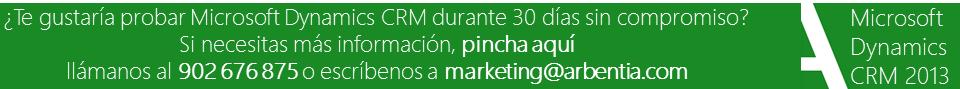Arbentia Microsoft Dynamics CRM pruébelo