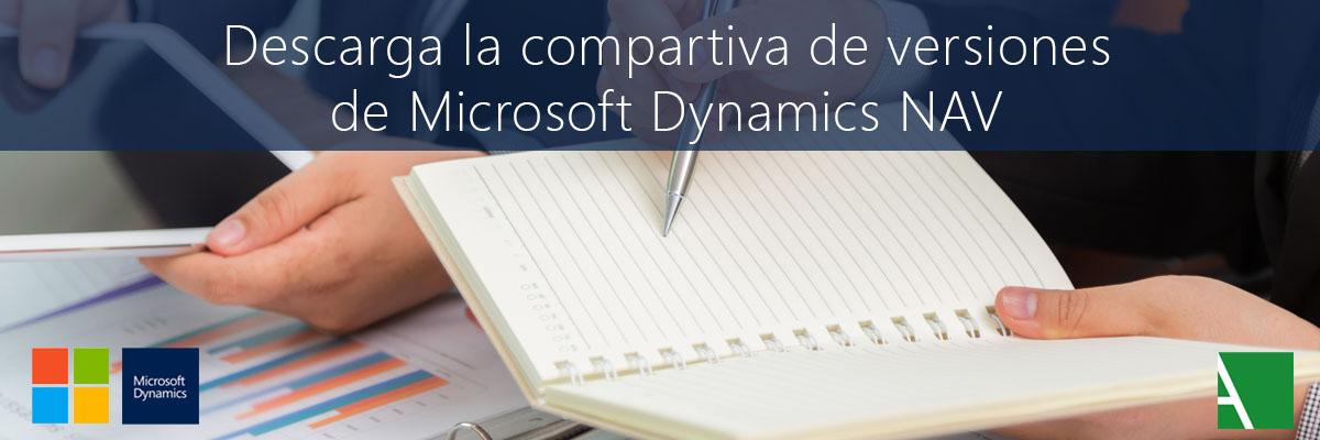 ARBENTIA | Comparativa de versiones Microsoft Dynamics NAV