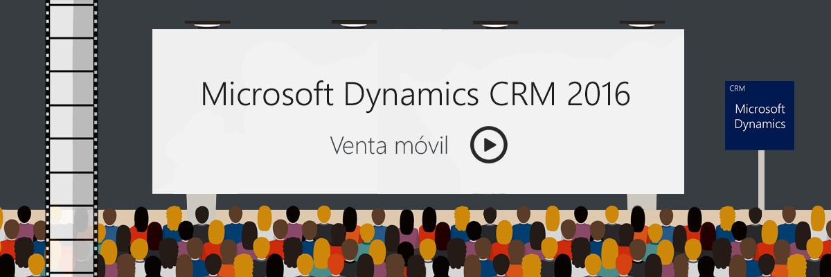 Vídeo Microsoft Dynamics CRM 2016