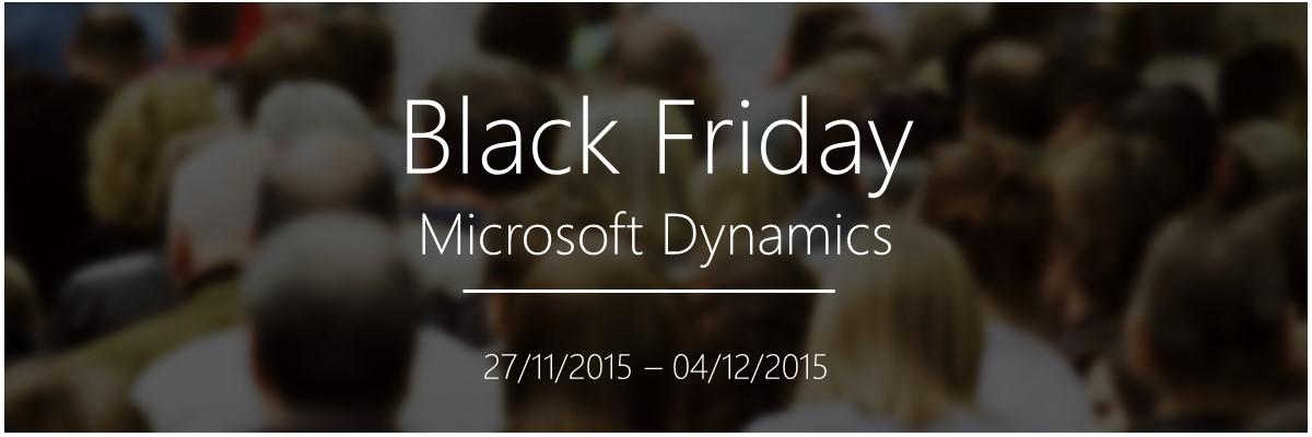 ARBENTIA Black Friday para Microsoft Dynamics