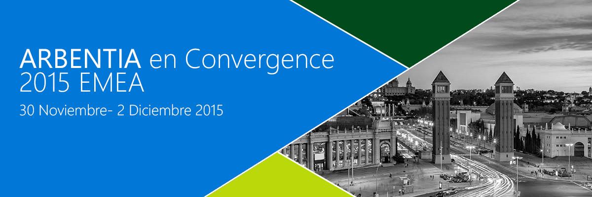 ARBENTIA en el mayor Evento de Microsoft Dynamics 2015| Convergence EMEA