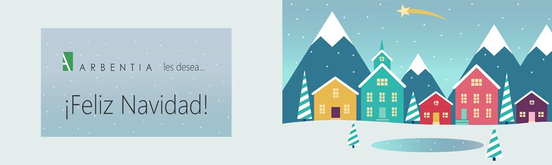 Feliz Navidad desde ARBENTIA