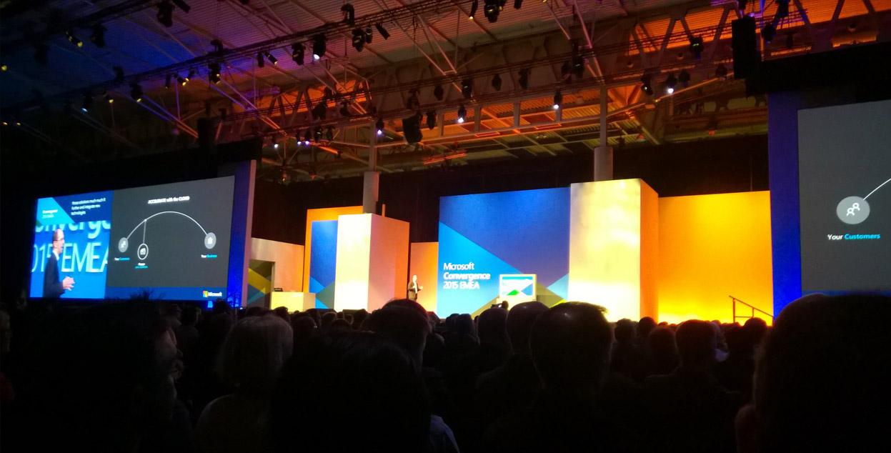 ARBENTIA en el mayor evento de Microsoft | Convergence 2015 EMEA