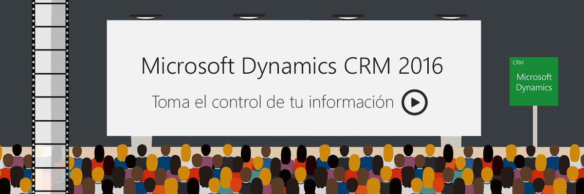 ARBENTIA | Toma el control de tu información con Microsoft Dynamics CRM 2016