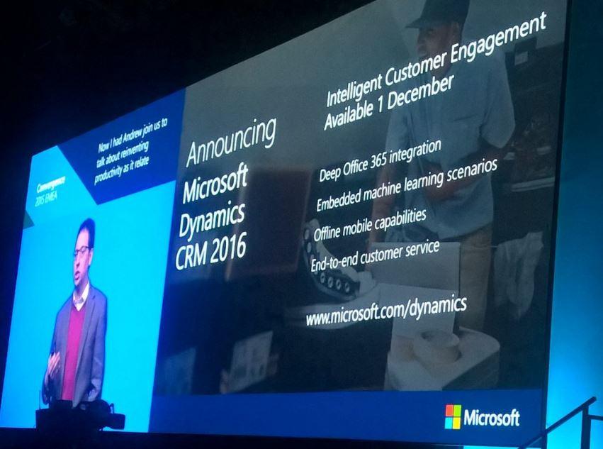 ARBENTIA Lanzamiento de Microsoft Dynamics CRM 2016