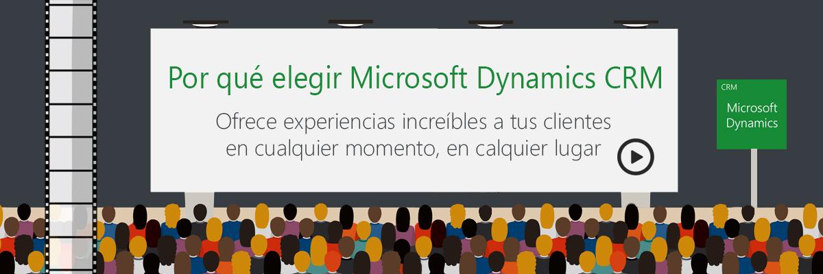 ARBENTIA Gold Partner - Por qué elegir Microsoft Dynamics CRM