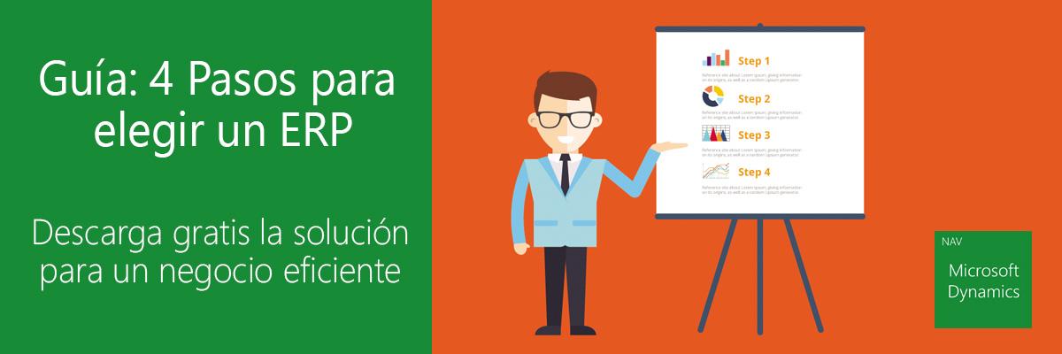 ARBENTIA Gold Partner Microsoft Dynamics - 4 Pasos para elegir un ERP