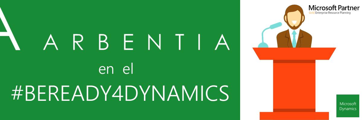 ARBENTIA Gold Partner | ARBENTIA en BEREADY4DYNAMICS
