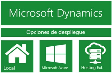 Opciones de despliegue Microsoft Dynamics