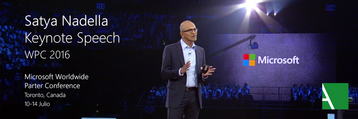 WPC 2016 SATYA NADELLA KEYNOTE SPEECH
