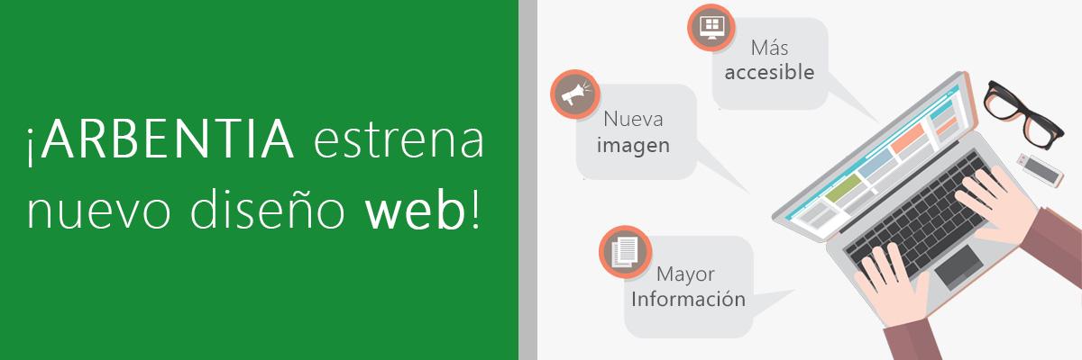 ARBENTIA estrena nuevo diseño web