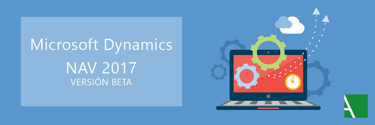 Novedades Microsoft Dynamics NAV 2017 versión Beta