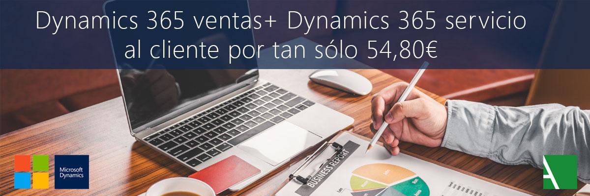 ARBENTIA | Promoción Dynamics 365 ventas y servicio al cliente