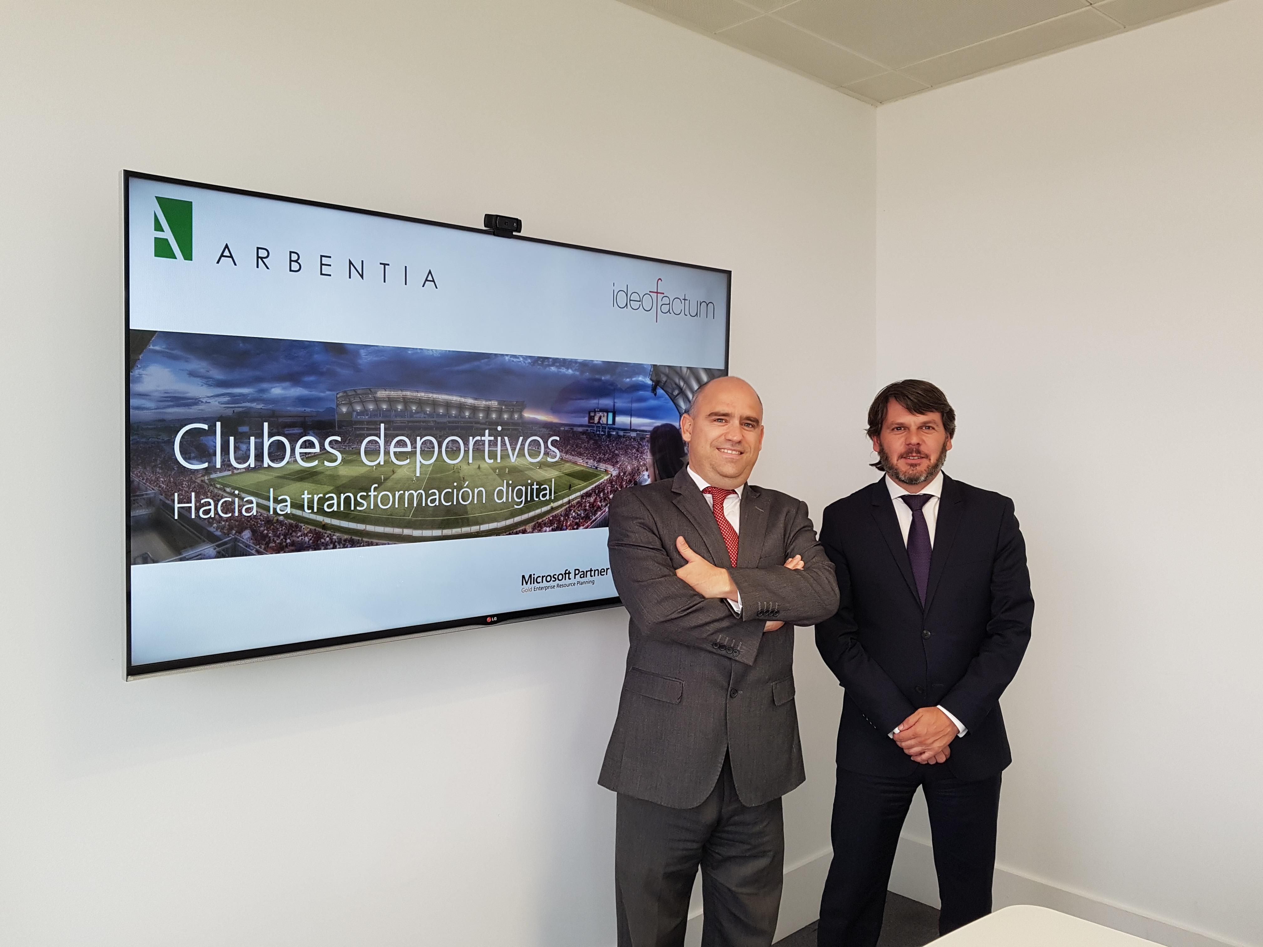 ARBENTIA, Ideofactum y GSCI juntos por la ditalización en la industria del deporte
