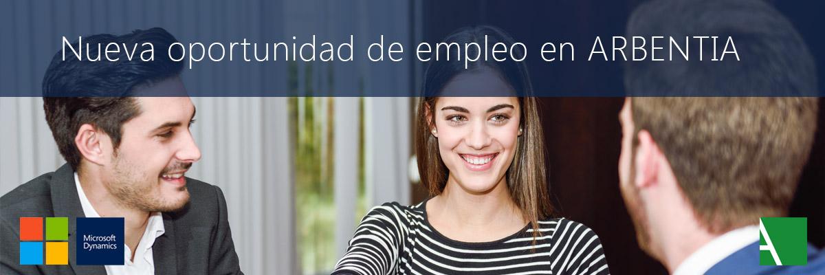 ARBENTIA | empleo programador Microsoft Dynamics NAV 365