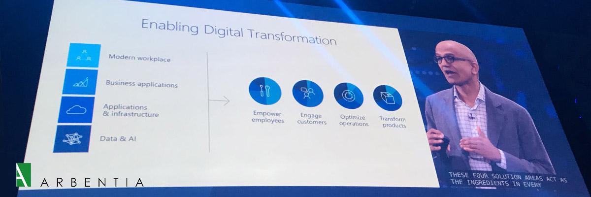 Keynote Microsoft Inspire 2017 Satya Nadella