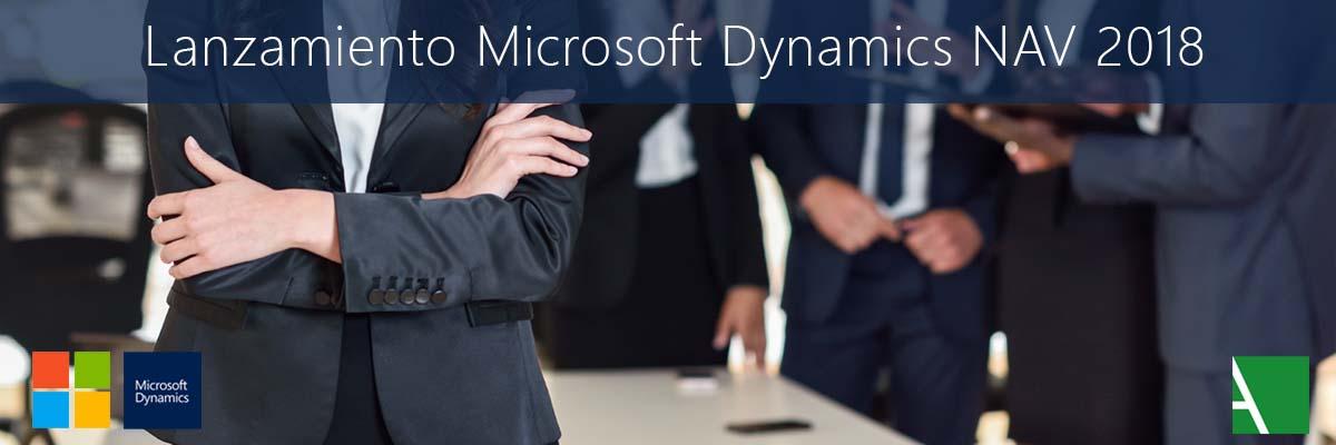 Características de Microsoft Dynamics NAV 2018