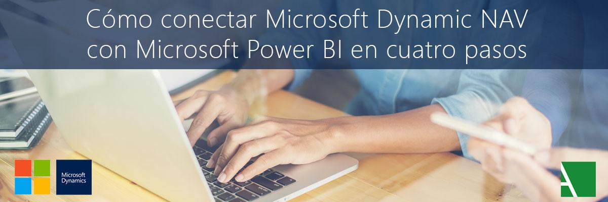 ARBENTIA | Como conectar Microsoft Dynamics NAV con Power BI