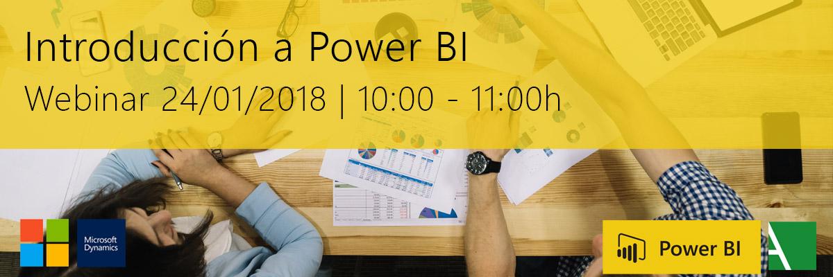 ARBENTIA Webinar | Introducción a Power BI