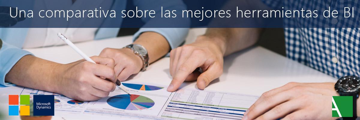 ARBENTIA | Comparativa de herramientas de Business Intelligence