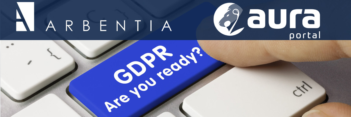 WEBINAR AURA PORTAL - ARBENTIA | webinar solución para empresas reglamento protección de datos