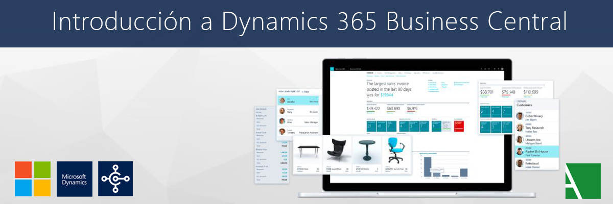 introducción a Microsoft Dynamics 365 Business Central