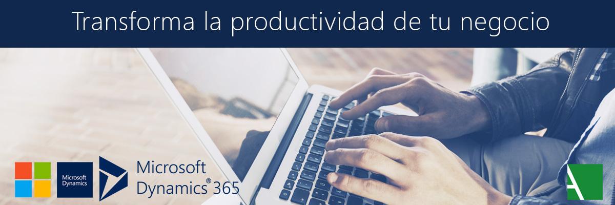 ARBENTIA | Microsoft Dynamics 365 plataforma de aplicaciones de negocio en la nube