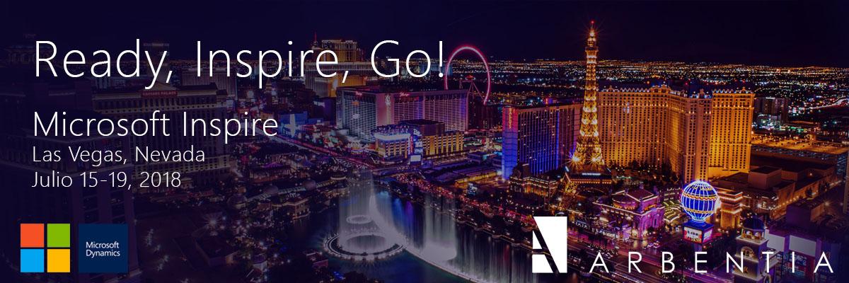 ARBENTIA | Microsoft Inspire 2018 y Microsoft Ready