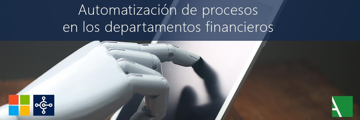 ARBENTIA   Beneficios del RPA en los departamentos financieros