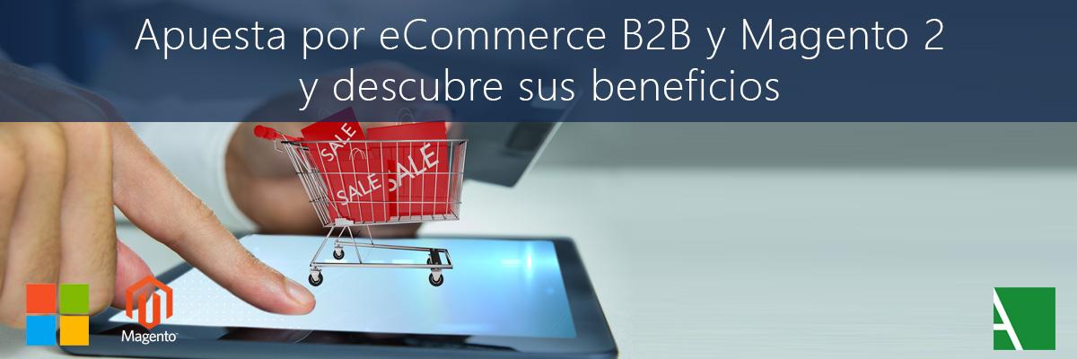 ARBENTIA | Beneficios del eCommerce B2B con Magento 2