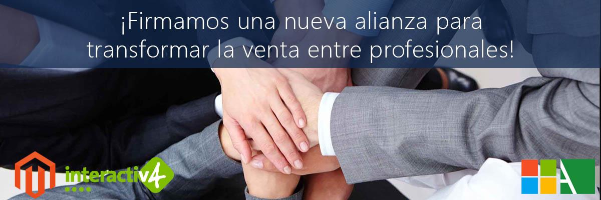 ARBENTIA firma una colaboración con Interactiv4, líder en soluciones eCommerce Magento