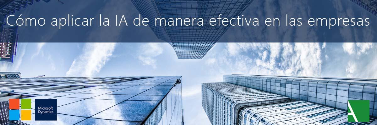 ARBENTIA | Efectividad de la inteligencia artificial en las empresas