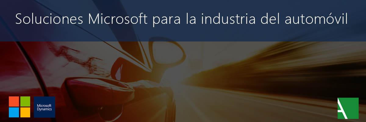 Soluciones Microsoft para Automoción