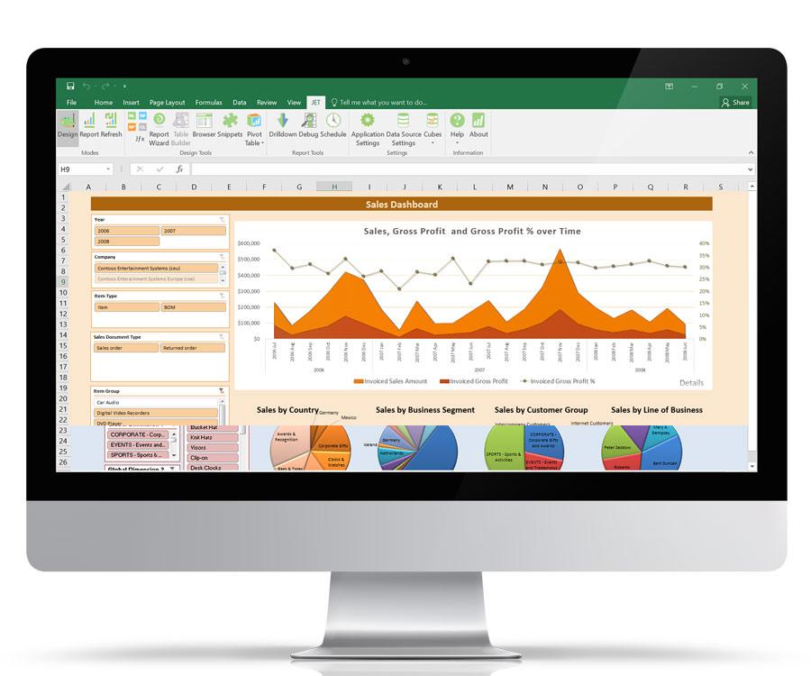 Arbentia | Software de análisis de datos para Microsoft Dynamics 365