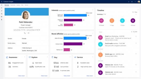 Nuevas aplicaciones de Dynamics 365 2019 | Dynamics 365 Customer Insights