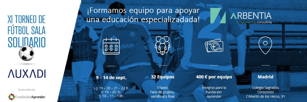 Arbentia | Torneo de Fútbol Sala Solidario