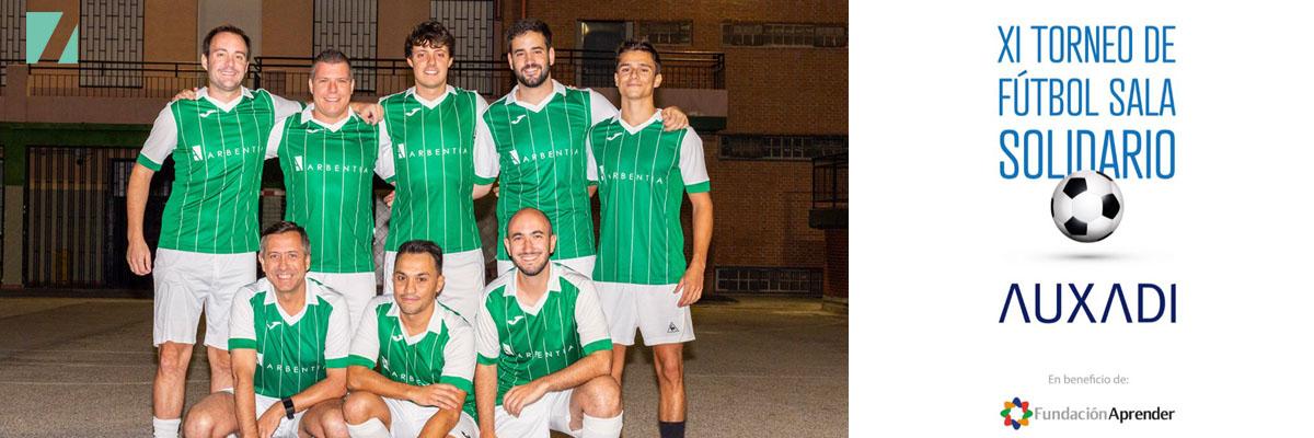 XI Torneo de Fútbol Sala Solidario Auxadi: ¡Objetivo de recaudación conseguido!